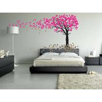 Adesivos Decorativos Parede Arvores E Flores