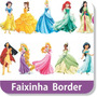 26 Faixas Border Decorativa Princesas Disney Papel Parede