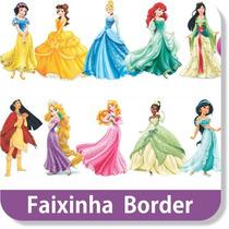 26 Faixas Border Decorativa Princesas Disney Papel Parede