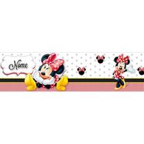 Faixa - Border Minnie O 789 -personalizado Com O Nome