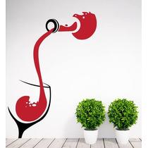 Adesivos Parede Cozinha Vinho Degustação Restaurante