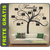 Adesivo Parede Árvore Genealógica Porta Retrato Frete Grátis
