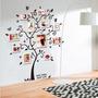 Adesivo Parede Decorativo Árvore Fotos Quadros Mural Família