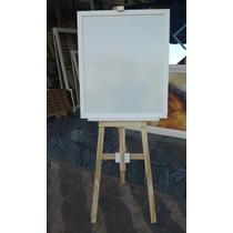 Lousa Branca P/anuncios C/cavalete Regulavel+apagador+caneta