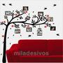 Adesivo Decotativo De Parede - Árvore Genealógica Para Fotos