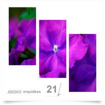 Painel Adesivo Parede Decorativo Flores Orquidea Quarto 21