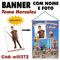 Hercules Banner Digital Impresso Em Lona Fotografico Will372