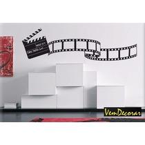 Adesivo Take Cinema - Rolo De Filme Sala Quarto 54 X 190