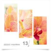 Painel Adesivo Parede Decorativo Flores Orquidea 13