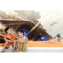 Adesivo Papel Parede Painel Decorativo Star Wars Mod.01