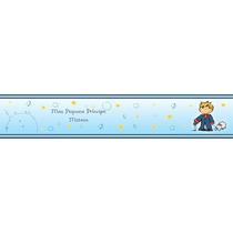 Faixa Decorativa Pequeno Príncipe Personalizado Com O Nome