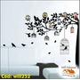 Adesivo Árvore Para Fotos De Família Pássaros Gaiola Will252