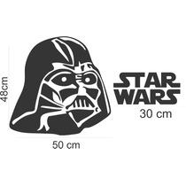 Adesivos Parede Star Wars Guerra Nas Estrelas Filmes Decorar