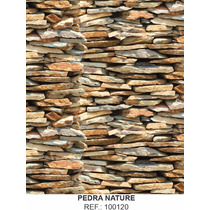 Papel Adesivo Contact Pedra Nature 45 Cm X 10 Mt Lavavel