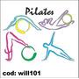 Adesivo De Parede Pilates Ginástica Exercícios Will101