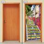 Adesivo Decorativo De Porta - Escadaria Selarón - 378mlpt