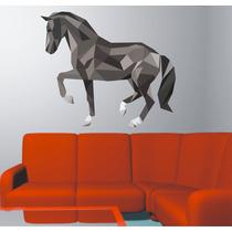 Adesivo De Parede Sala Animais Cavalo Rodeio Cowboy Aras