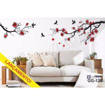 Adesivo Decorativo De Parede Sakura Flor De Cerejeira Gg-129