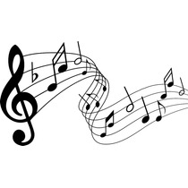 Adesivo Parede Música Decorativo Notas Musicais