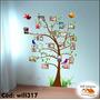Adesivo Digital Impresso Árvore De Fotos De Família Will317