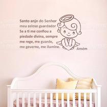Adesivo Decorativo De Parede Quarto Infantil Santo Anjo