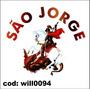 Adesivo De Parede Santo São Jorge Corinthians Will0094