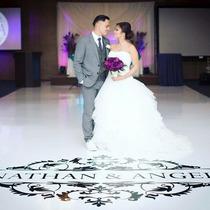 Adesivo Pista De Dança 2x2m Casamento 15 Anos Aniversário