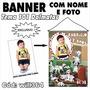 Banner Infantil Decorativo Aniversário 101 Dalmatas Will364
