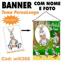Confecção De Banner Infantil Fotográfico Pernalonga Will368