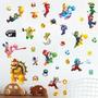 Adesivo Decorativo De Parede - Super Mario Bros 444