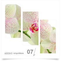 Painel Adesivo Parede Decorativo Flores Orquidea 07