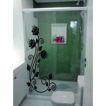 Adesivos Decorativos Box Blindex Espelho Vidro Decorar