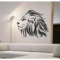 Adesivos Parede Decoração Leão Rei Natureza Frete Grátis