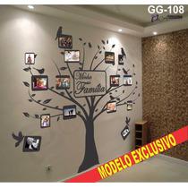 Adesivo Decorativo Arvore Genealogica Minha Familia - Gg-108