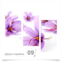 Painel Adesivo Parede Decorativo Flores Orquidea 09