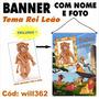Banner Impresso De Aniversário Para Festa Rei Leão Will362