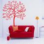 Adesivo Decorativo Árvore Folhas - Tamanho Pequeno