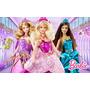 Painel Para Festa Aniversário Barbie B4