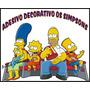Adesivo Decorativo Paredes Simpsons 1 Metro - Sem Fundo