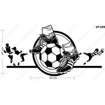 Decoração De Quarto Infanti Futebol Grande Bola, Sala