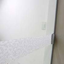 Faixa Adesivo Jateado P/ Vidro Arabesco 20 Folhas 10x100cm