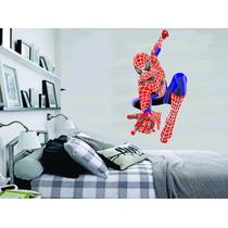 Adesivo Parede Quarto Infantil Super Herói Homem Aranha