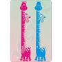 Adesivos Decorativos De Parede - Réguas Métricas / Girafas