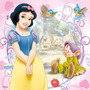 Painel Lona Aniversario Infantil Tema Branca De Neve Disney
