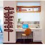 Adesivo Decorativo Placas 4 (40x126)cm - Frete Gratis