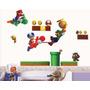 Adesivos Decorativos Super Mario Bross 45x60