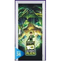 Adesivo 123 Porta Ben10 Ben 10 Bem10 Aliens 036