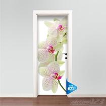 Adesivo 123 Porta Flores Orquídeas Mod 622
