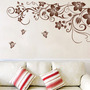 Butterfly Home Decorar Wall Decor Adesivos Bat Personalizado