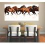 Adesivo De Parede Animal Cavalos Cowboy Aras Rodeio